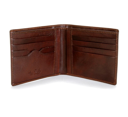 Ultimo Hipster Divided Wallet PI410101 Open Brown