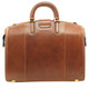 Tuscano Partners Briefcase PI018102 | Color Cognac | Back