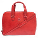 Classic Zip - Around Laptop Bag - red side view