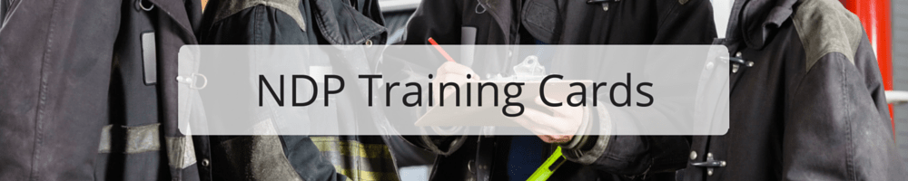 Shop for New Disaster Prep Training Cards