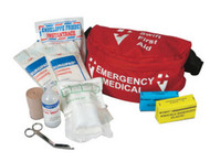 "North® by Honeywell Small 10.125"" X 7.125"" X 6.625"" Trauma/Emergency Medical Kit With Soft-Sided Pouch"