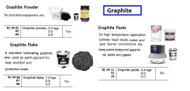 IMPA 812402 GRAPHITE POWDER jar 1 kg.
