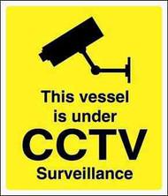 IMPA 332896 ISPS code sign - Vessel is under CCTV surveillance