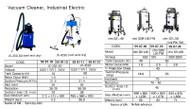 IMPA 590719 Lavor Vac 18 Plus, Wet & dry vacuum cleaner, 1000W, 220V, 50/60 Hz, 18 l Lavor