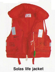IMPA 330134 Lifejacket with tape USCG approved
