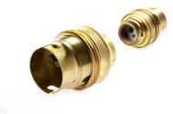 IMPA 450130 BRASS LAMPHOLDER B22 M16