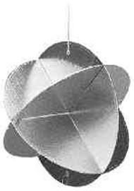 IMPA 330190 Radar reflector MED approved