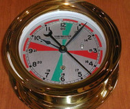 "IMPA 370201 Radio/Sectoren Clock 4"""