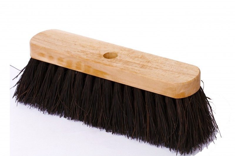 Impa 510601 Brush Deck Coir 180mm Width With Long Handle 300mm