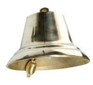 IMPA 370102 SHIPS BELL BRASS 30cm IMCO 110 dB.  + cert.