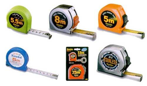 IMPA 650823 TAPE RULE STEEL 5 mtr  Metric & Inch B M I