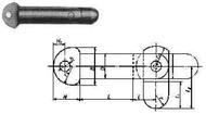 IMPA 696801 TOGGLE PIN BRASS Diam. 6mm x Length 100mm