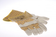 IMPA 190113 WELDING GLOVE RED LEATHER 5 FINGERS RED LEATHER