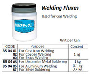 IMPA 850483 WELDING POWDER BORACIT jar 500 gram (BRONSFLUX)