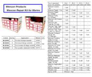 IMPA 812331 WENCON REPAIR KIT 2