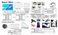 """IMPA 671221 Wire Ties st.st 14"""" per 100 pcs"""