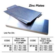 IMPA 673445 ZINCPLATE 300x150x25mm