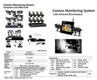 IMPA 370543 CCTV-with infrared illuminators set