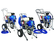 IMPA 270101 Airless unit pneumatic ratio 23:1 - 2,5 ltr/min cart type Handok HM23 (is equivalent for Graco Monark)