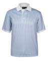 1369-spp blue stripe polo             4.75 oz, 100% dry wicking poly, interlock