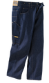 Prison Blues Men's Work Jeans Without Suspender Buttons