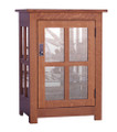 HC One Door Curio Cabinet