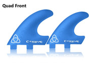 Quad Front Fins  MEDIUM FCS