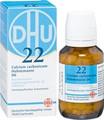 Schuessler Salts Nr 22 Calcium Carbonicum D6 Tabletten (Tablets) 200ea