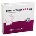 FERRUM VERLA 80,5mg Brausetabletten (Effervescent Tablets) 100st