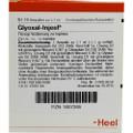 Glyoxal Injeel Ampullen (Ampoules) 10 x 1.1ml
