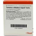 Tartarus Stibiatus Injeel Forte Ampullen (Ampoules) 10 x 1.1ml
