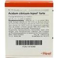 Acidum Citricum Injeel Forte Ampullen (Ampoules) 10 x 1.1ml