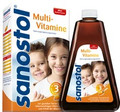 Sanostol Ohne Zuckerzusatz Multi-Vitamine Saft 460ml