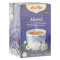 Yogi Tea Abend Tee Bio Filterbeutel 17x1.8g