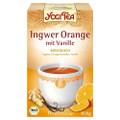 Yogi Tea Ingwer Orange + Vanille Bio 17x1.8g