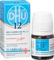 Schuessler Salts  Nr 12 Calcium Sulfuricum D6 Globuli 10g
