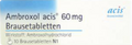 Ambroxol Acis 60 mg Brausetabletten (Cough Effervescent Tablets) 20 St