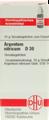 Argentum Nitricum 30X (D30) Globuli 10g