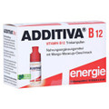 Additiva Vitamin B12 Trinkampullen (Drinking Ampoules) 10x8ml