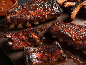 Baby Back Pork Ribs in BBQ Marinade (~1.2kg)
