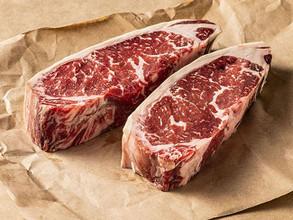 USDA Prime 30 Days Dry Aged Natural Angus Boneless Sirloin ~ 230g 30天熟成美國頂級天然安格斯無骨西冷牛扒 (230克)