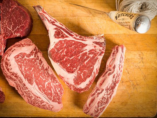 USDA Prime Bone-In Dry Aged Ribeye Steaks