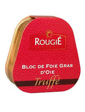 Tinned French Goose Foie Gras with Truffles 75g - ROUGIE - 法國罐裝黑松露菌鵝肝醬 75g