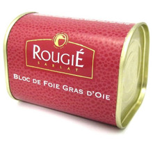 Tinned French Goose Foie Gras 145g - ROUGIE - 法國罐裝鵝肝醬 145g