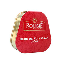 Tinned French Goose Foie Gras 75g - ROUGIE - 法國罐裝鵝肝醬 75g