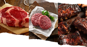 Burger, Steak and Ribs Pack 豬牛組合