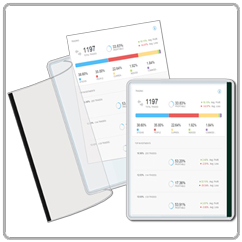 Magnetic Document Pockets with Flap 8.5 x 11