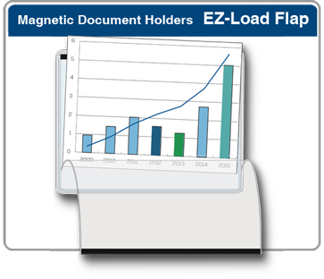 Easy Load Magnetic Pocket Document Holder with Flap 5S