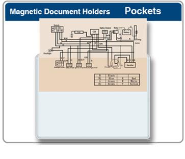 Easy Load Magnetic Pocket Display Holder 5S
