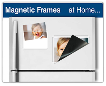 magnetic photo holders magnetic picture frames